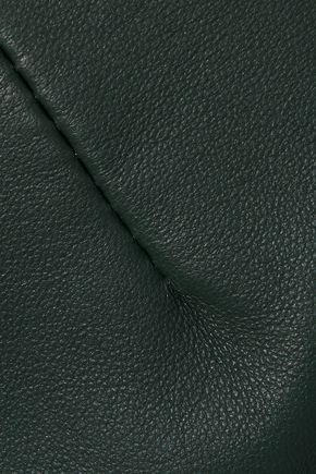 IRIS & INK Malena leather pencil skirt