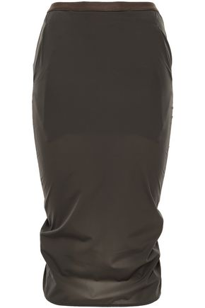 RICK OWENS Shell pencil skirt