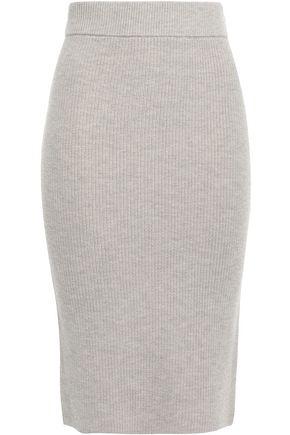 DUFFY Wool-blend skirt
