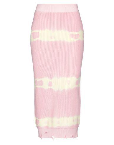 Купить Длинная юбка от MSGM розового цвета