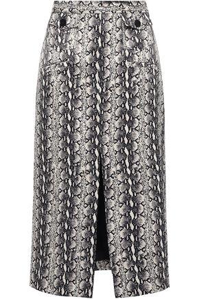 ALEXACHUNG Midi Skirt