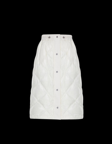 SKIRT White 2 Moncler 1952 Valextra Woman