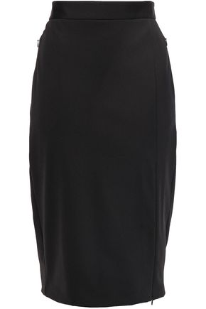 THEORY Stretch-jersey pencil skirt
