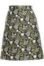 GIAMBATTISTA VALLI Flared jacquard mini skirt