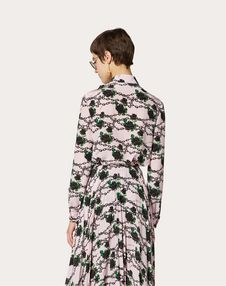 Undercover Print Crêpe de Chine Shirt