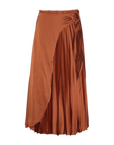 Купить Юбку длиной 3/4 от 8 by YOOX коричневого цвета