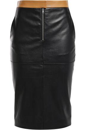 VICTORIA BECKHAM Leather pencil skirt