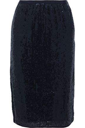 VANESSA BRUNO Sequined woven skirt