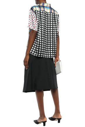 マルニ レイヤード フレア ツイル スカート