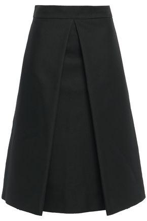 MARNI レイヤード フレア ツイル スカート