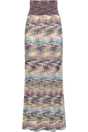 ミッソーニ かぎ針編みニット マキシスカート