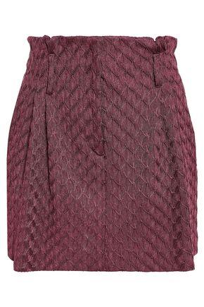 ミッソーニ かぎ針編みニット ミニスカート