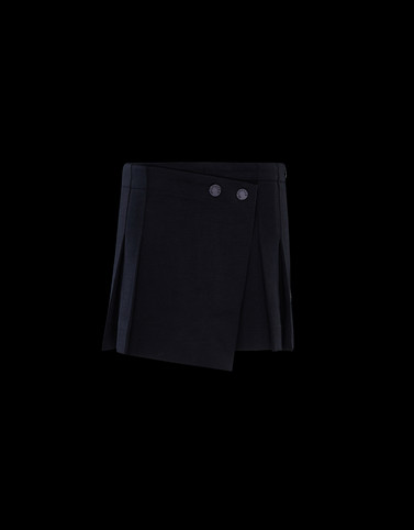 SKIRT Black Junior 8-10 Years - Girl Woman