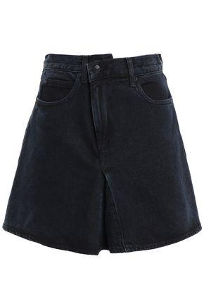 PROENZA SCHOULER PSWL Pleated denim mini skirt