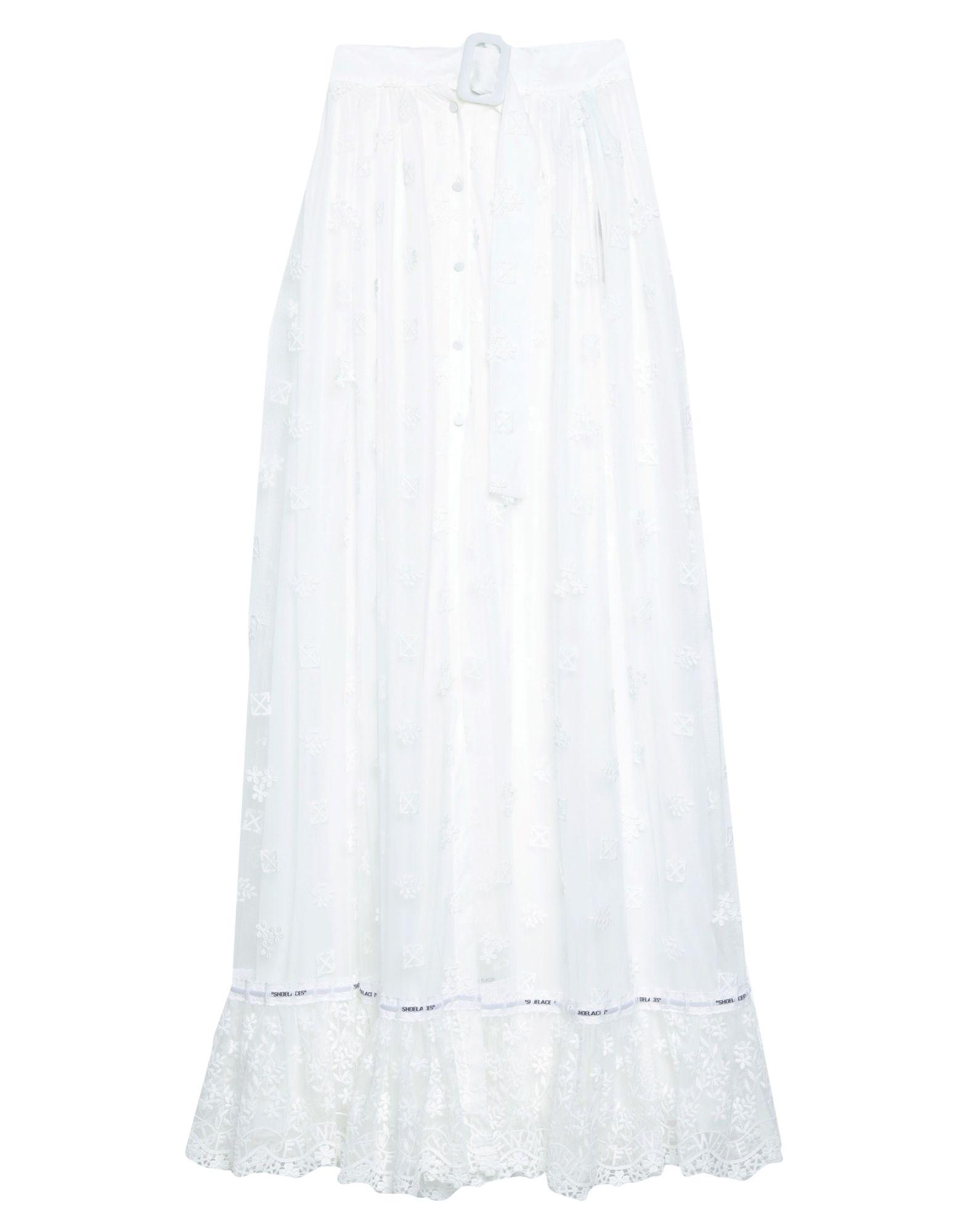 цены OFF-WHITE™ Длинная юбка