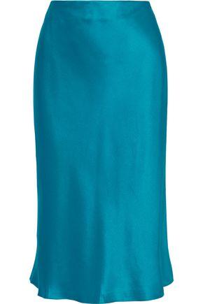 CINQ À SEPT Marta silk-satin skirt
