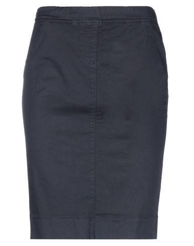 Купить Юбку до колена от BLUE LES COPAINS темно-синего цвета