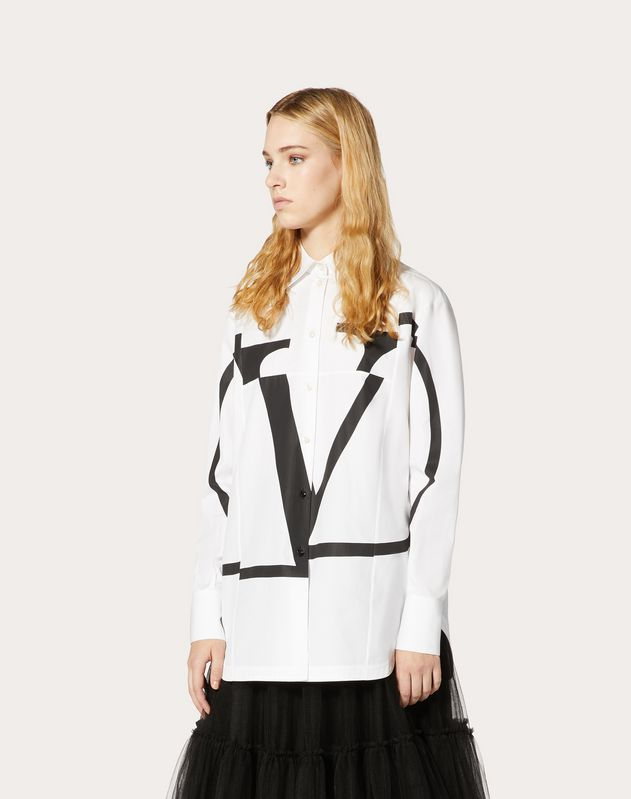 Deconstructed VLOGO Poplin Shirt
