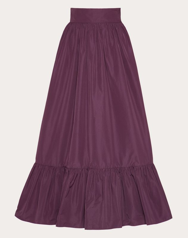 Micro-Faille Full Skirt