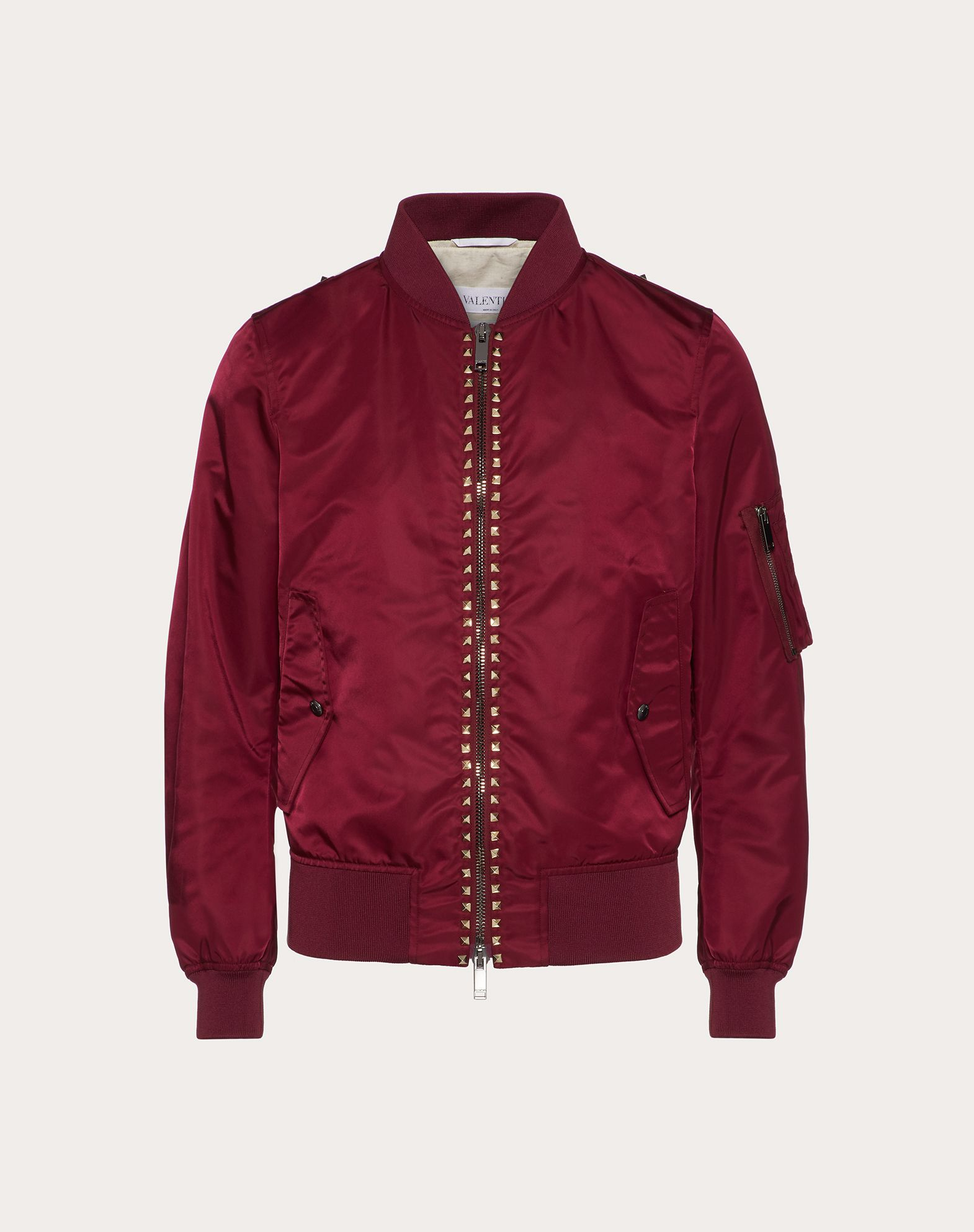 ROCKSTUD UNTITLED NYLON BOMBER