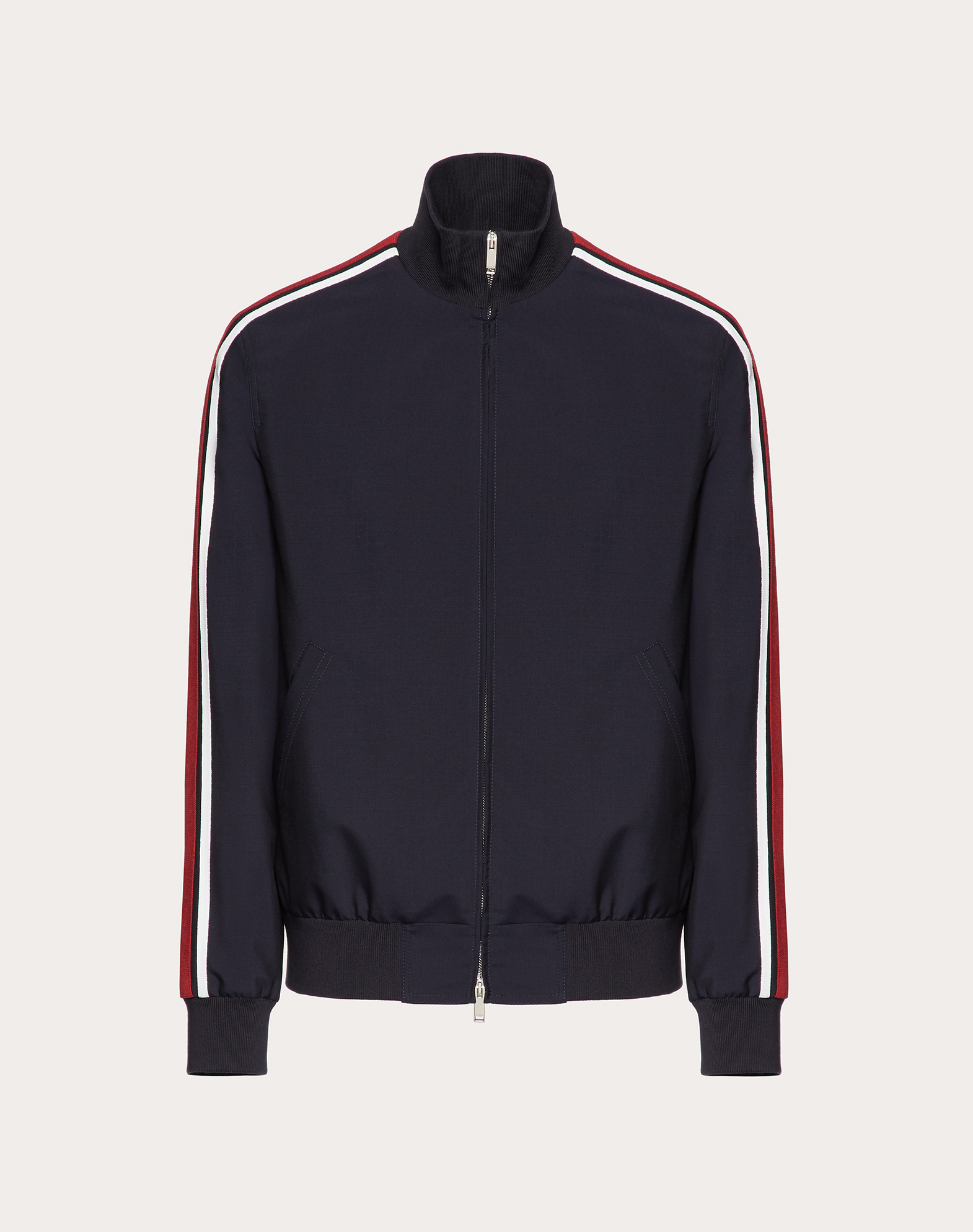 MOHAIR AND WOOL BLOUSON