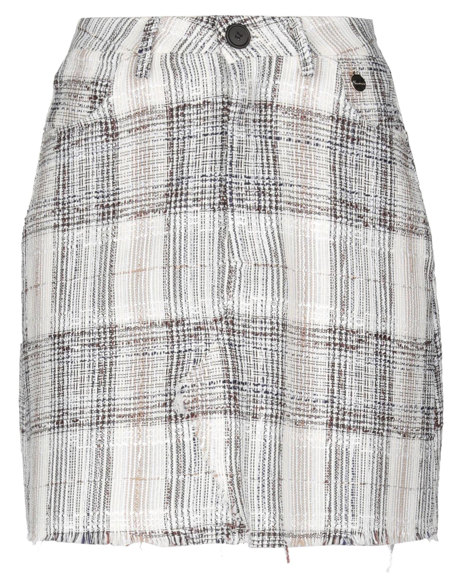 SOUVENIR Мини-юбка павловопосадская шерстяная шаль с шелковой бахромой волшебный узор 148х148 см