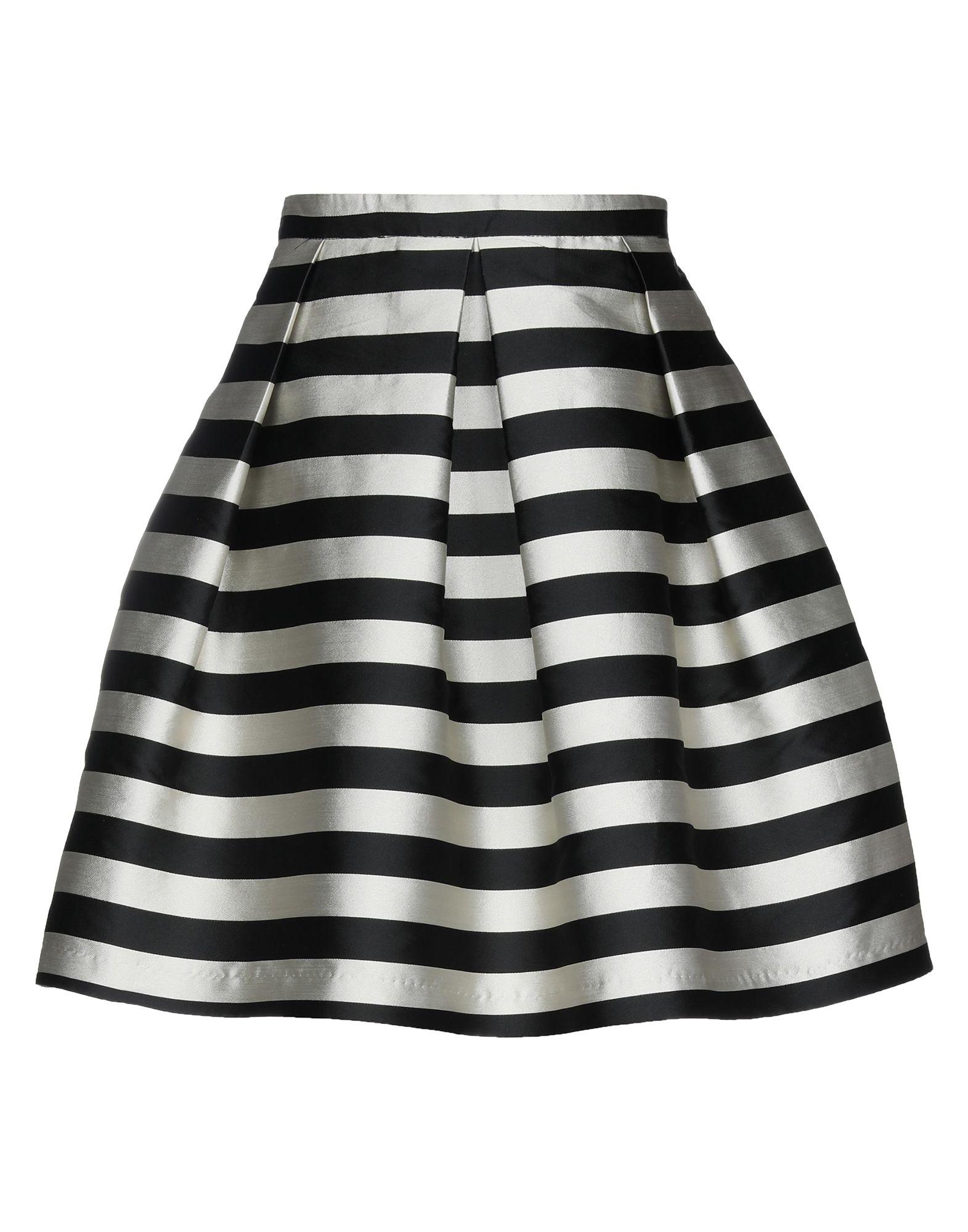 《セール開催中》VERYSIMPLE レディース ひざ丈スカート ブラック 38 ポリエステル 100%