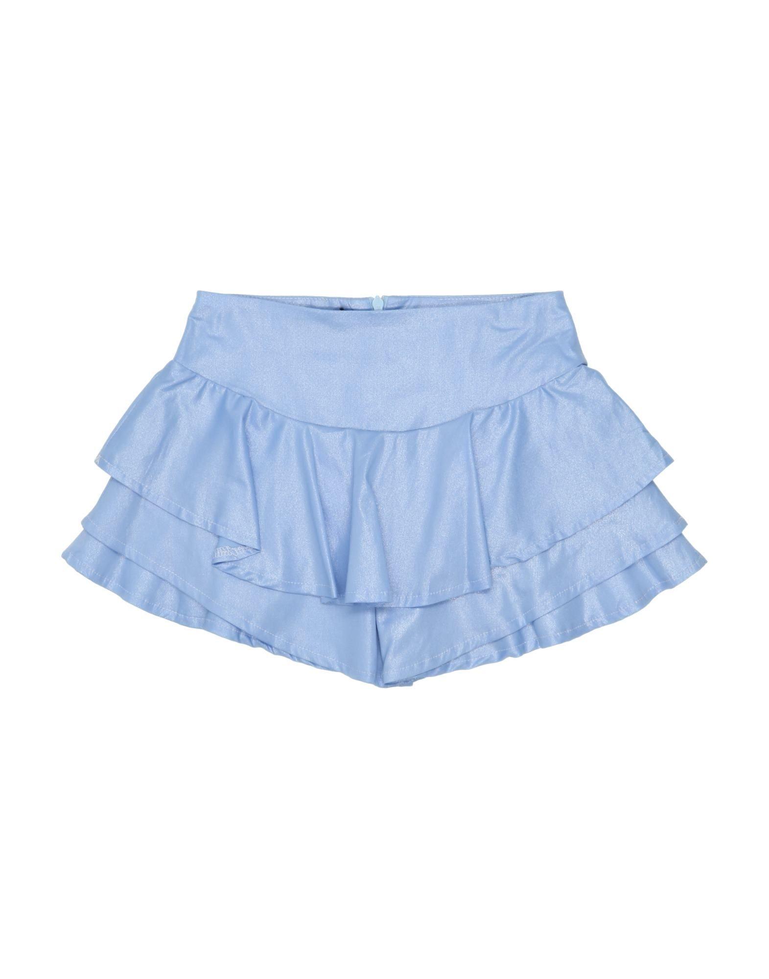 Miss Lulù Kids' Skirts In Sky Blue