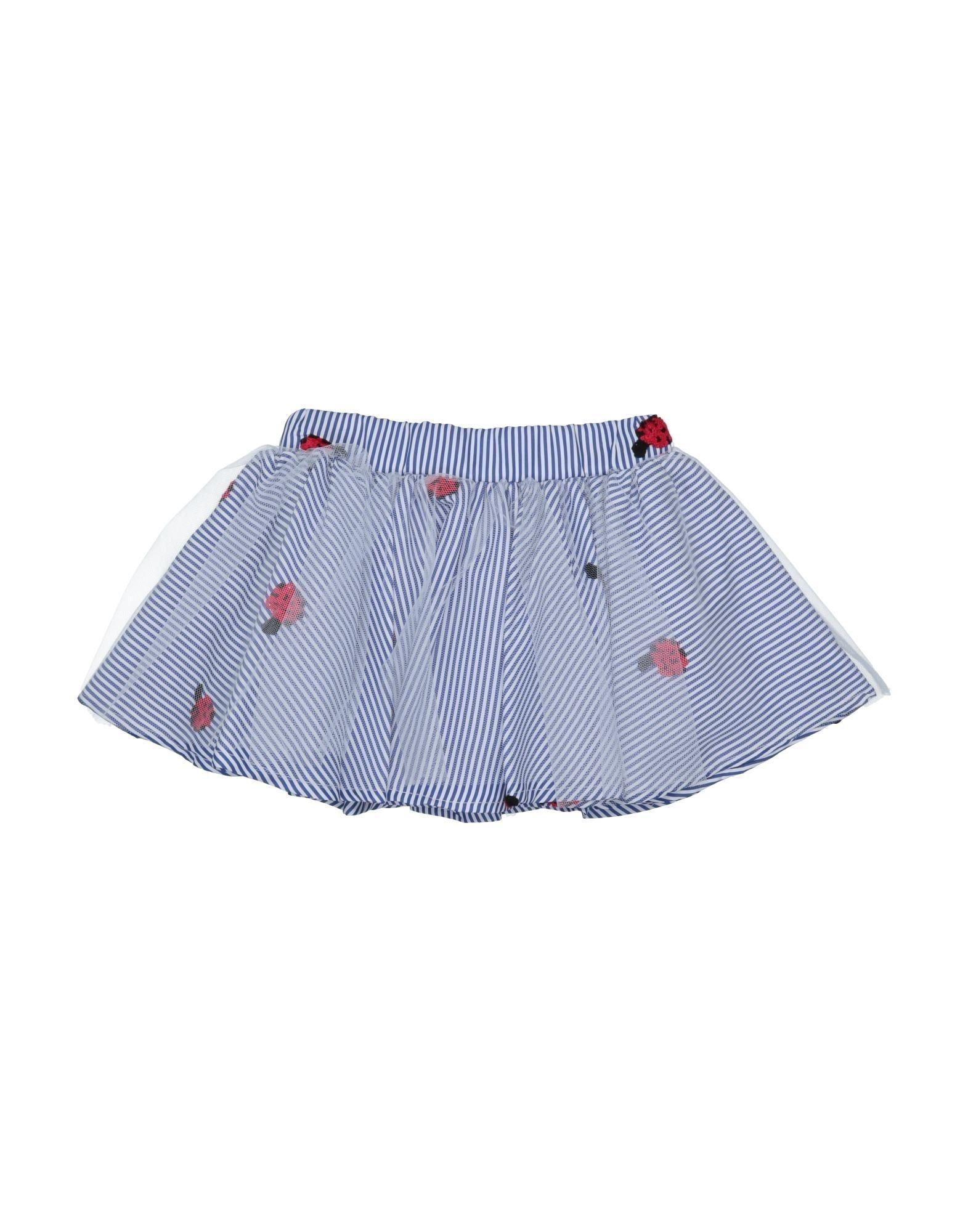 Miss Lulù Kids' Skirts In Blue