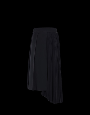 SKIRT Black Skirts and Trousers