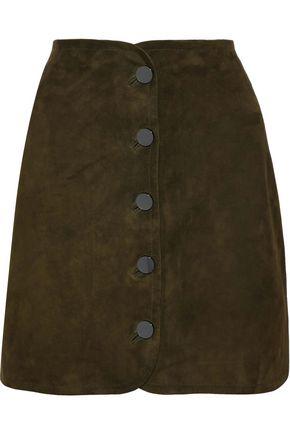ELIE TAHARI Ginger suede mini skirt