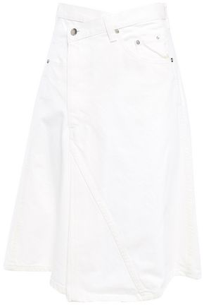 PROENZA SCHOULER Flared denim skirt
