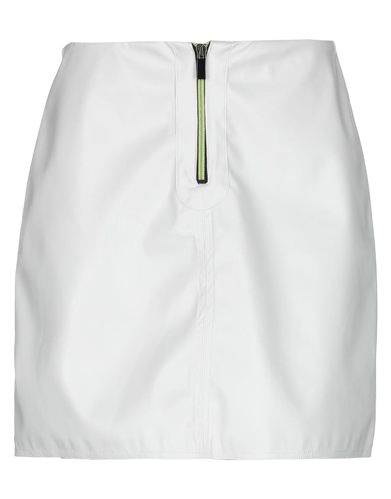 WHITE* Мини-юбка off white™ мини юбка