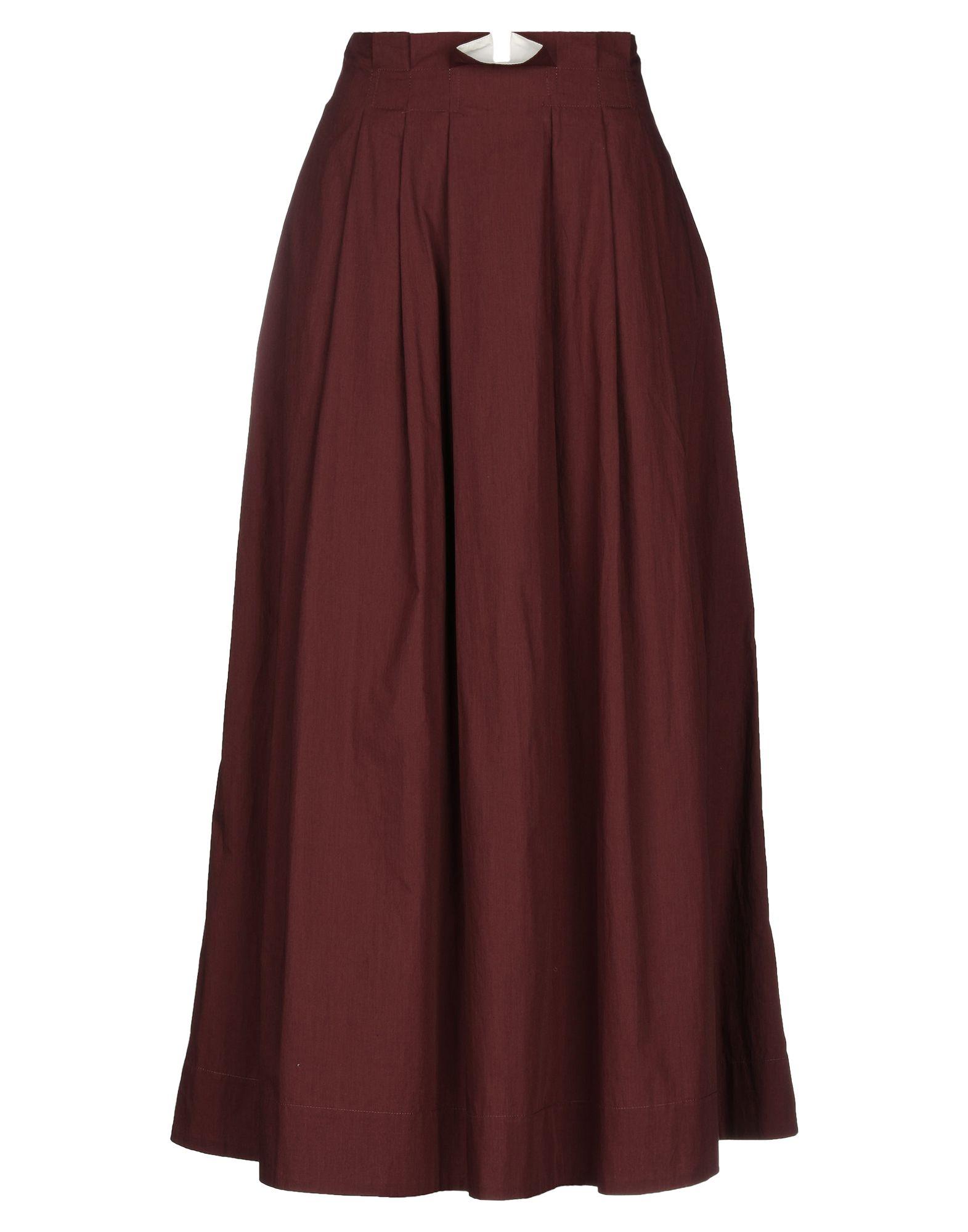 цена на JUPE DE SATIN Длинная юбка
