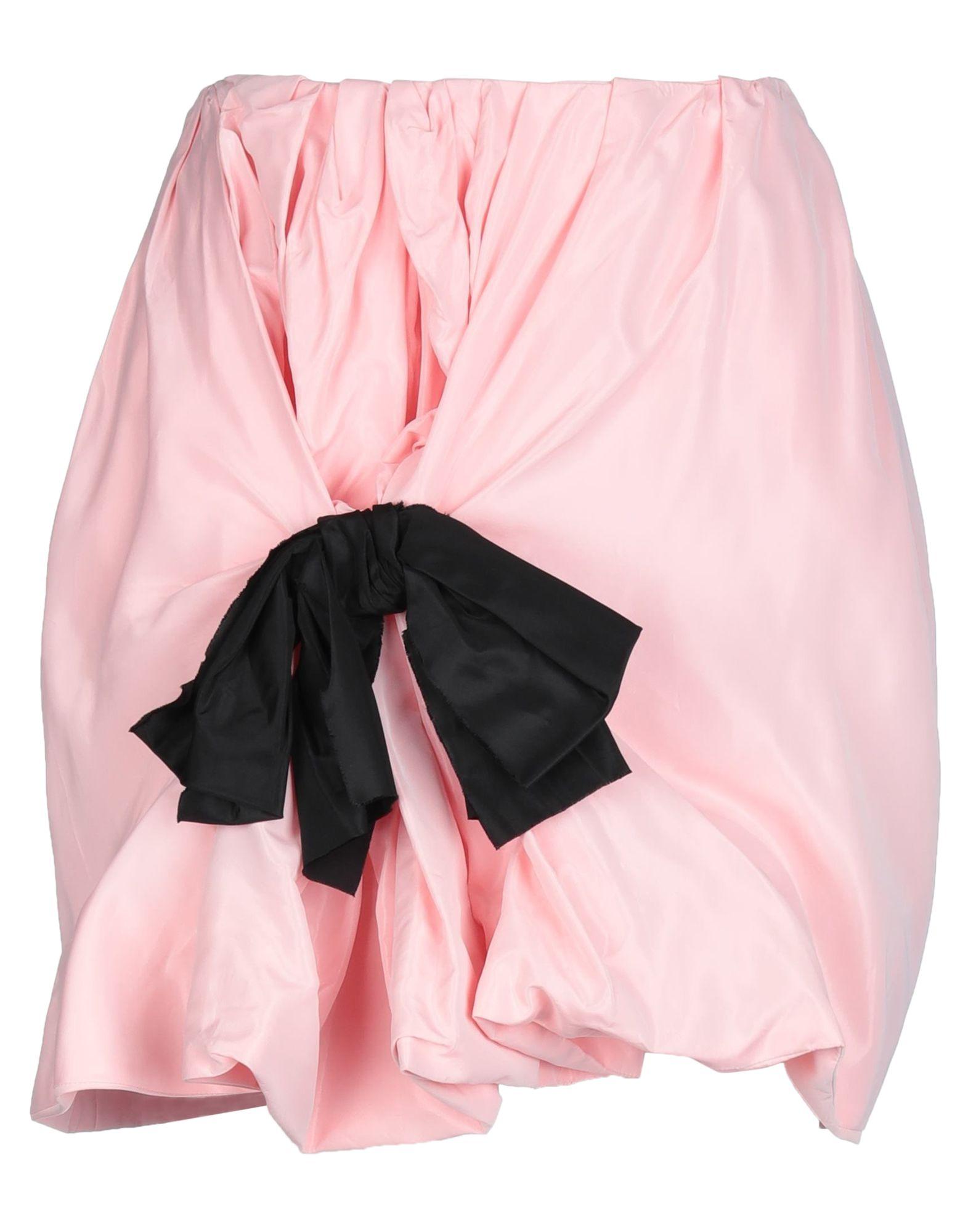 《セール開催中》CARMEN MARCH レディース ひざ丈スカート ピンク 34 アセテート 100%