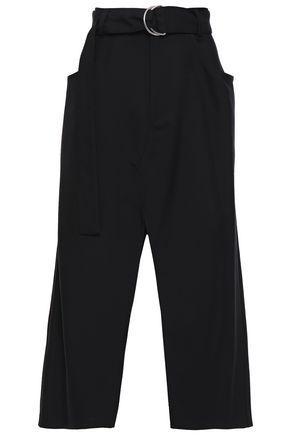 PROENZA SCHOULER Belted wool-blend twill midi skirt