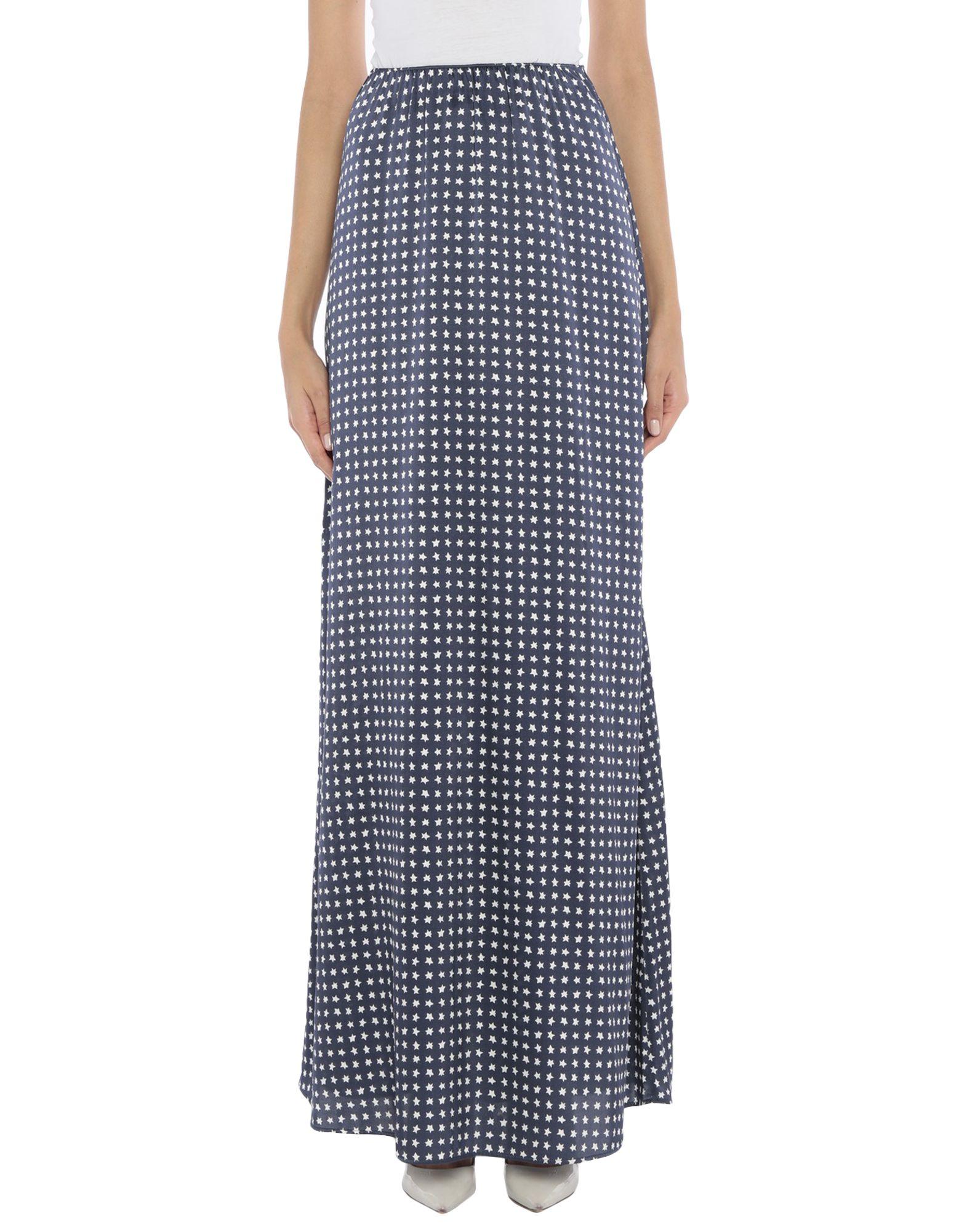 AMINA RUBINACCI Длинная юбка amina rubinacci льняное платье с отделкой пайетками