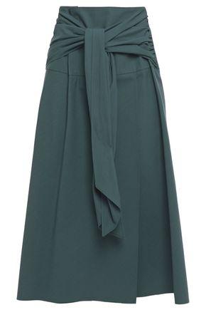 BRUNELLO CUCINELLI ノット付き コットン スカート