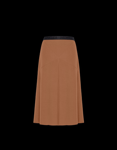 SKIRT Camel Skirts and Trousers