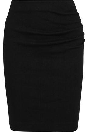 BA&SH Catany checked stretch-cotton mini skirt