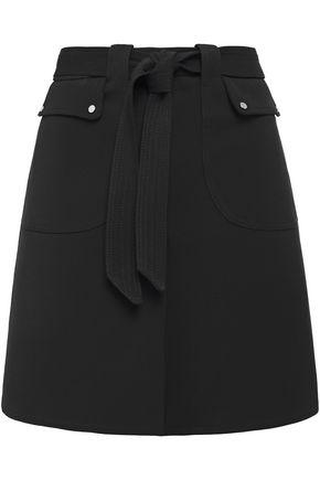 MAJE Stretch-twill mini skirt