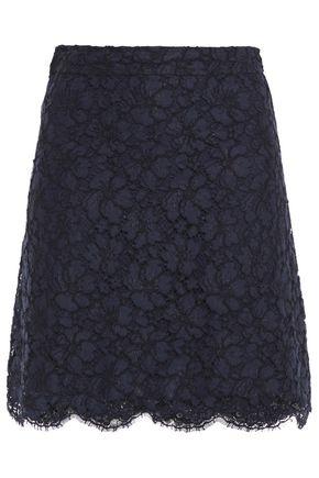 SANDRO Emil corded lace mini skirt