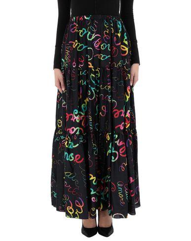 Фото 2 - Длинная юбка от GIADA BENINCASA черного цвета