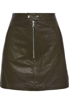 MARISSA WEBB Alexander leather mini skirt