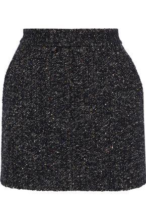 TIBI Bouclé-tweed mini skirt