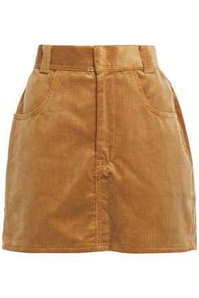 RE/DONE Cotton-corduroy mini skirt