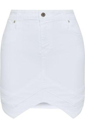 RTA Tempest denim mini skirt