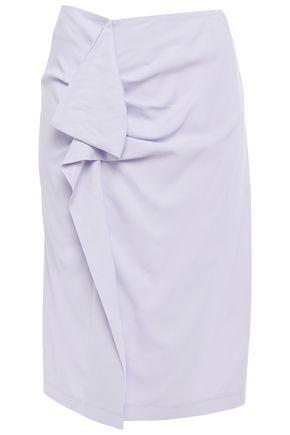 CARVEN تنورة بتصميم منسدل من قماش بيكيه