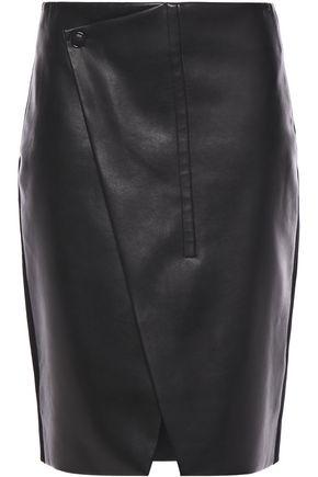 ELIE TAHARI Jade faux leather mini skirt