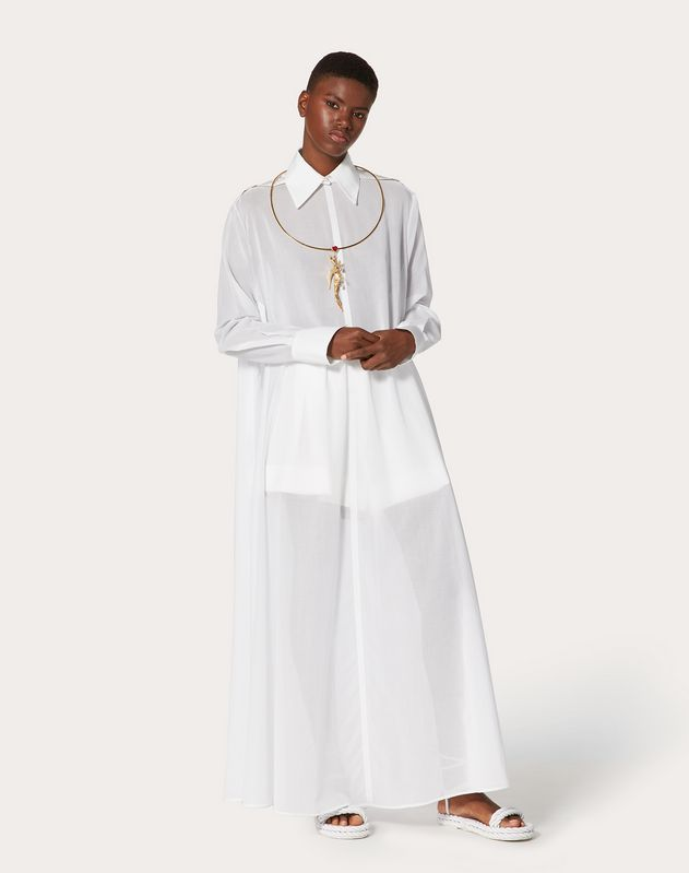 Oversize Cotton Voile Shirt